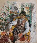 Rik Wouters Portrait of Ernest Wijnants oil